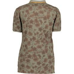 State of Art polo shirt, cotton, floral print State of Art