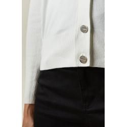 Knit Cardigan With Button Trim Ted BakerTed Baker