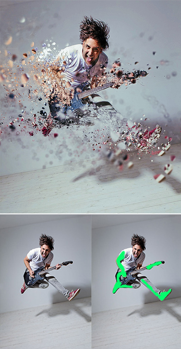 Create advanced looking dispersion effects in no time at all. You can choose fro...