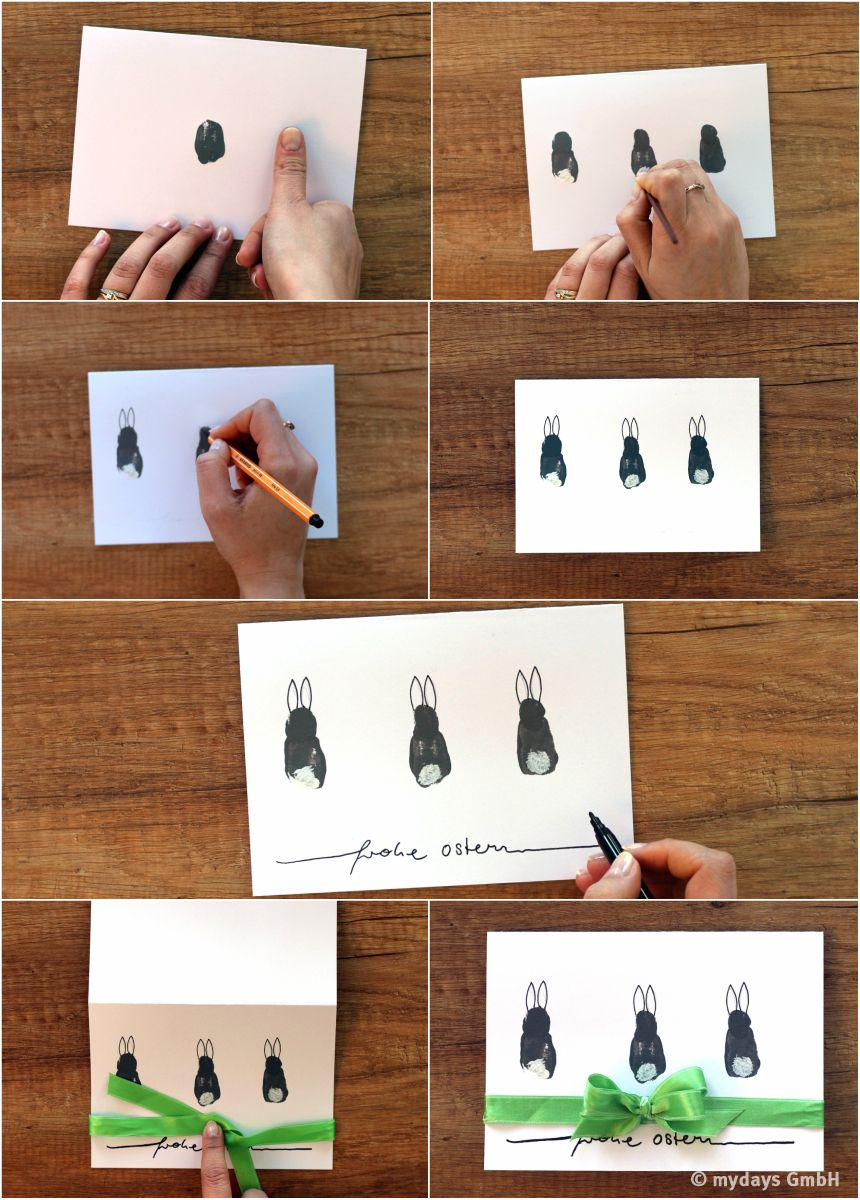 It's that simple: DIY DIY Easter cards yourself