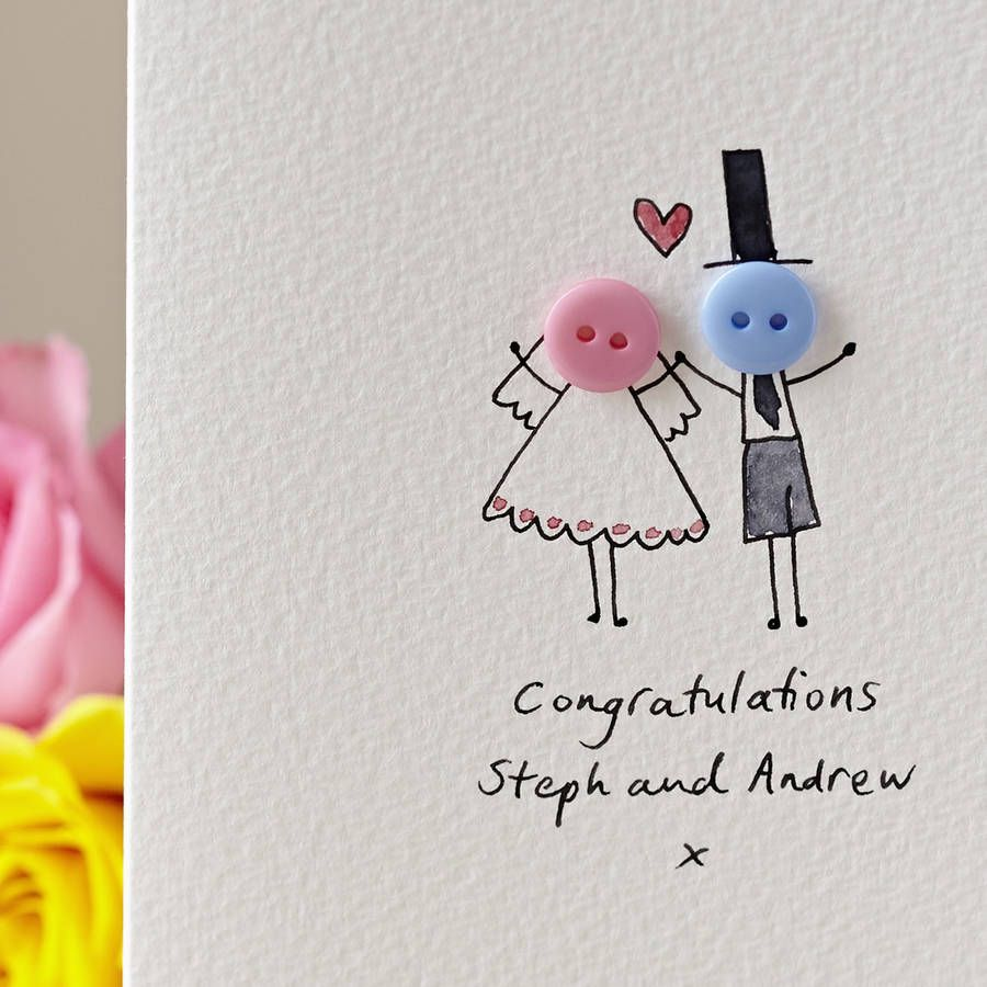 ▷ 1001 + DIY ideas and instructions for crafting a wedding card