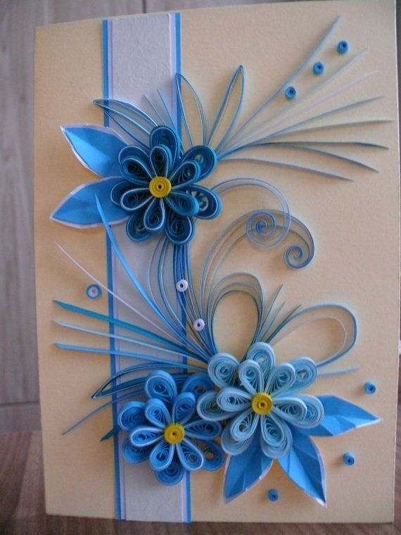Quilling Card, Birthday Card, Greeting Card, Quilling Greeting Card, Quilled, Mother's Card, Mother's Day Card, Handmade, Handmade Card, Card