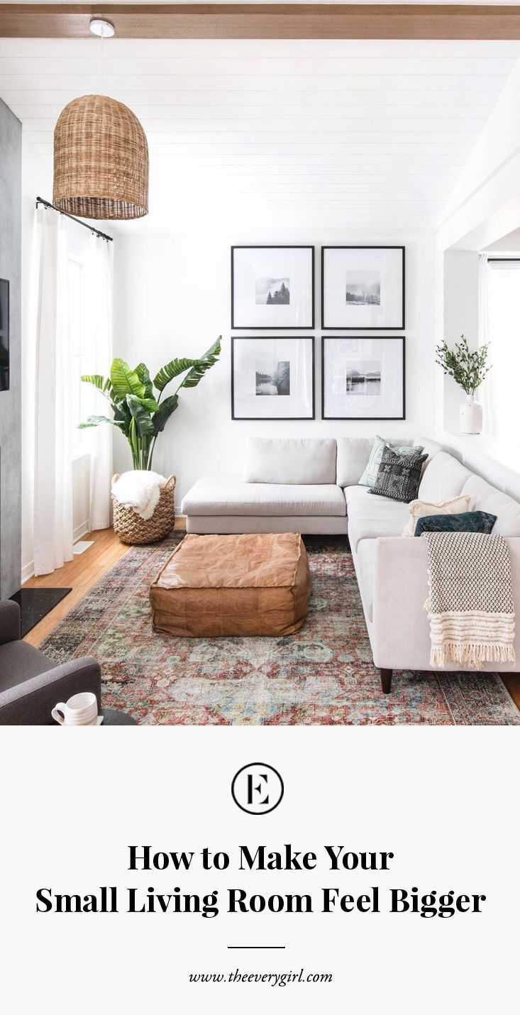 6 ways to enlarge your living room