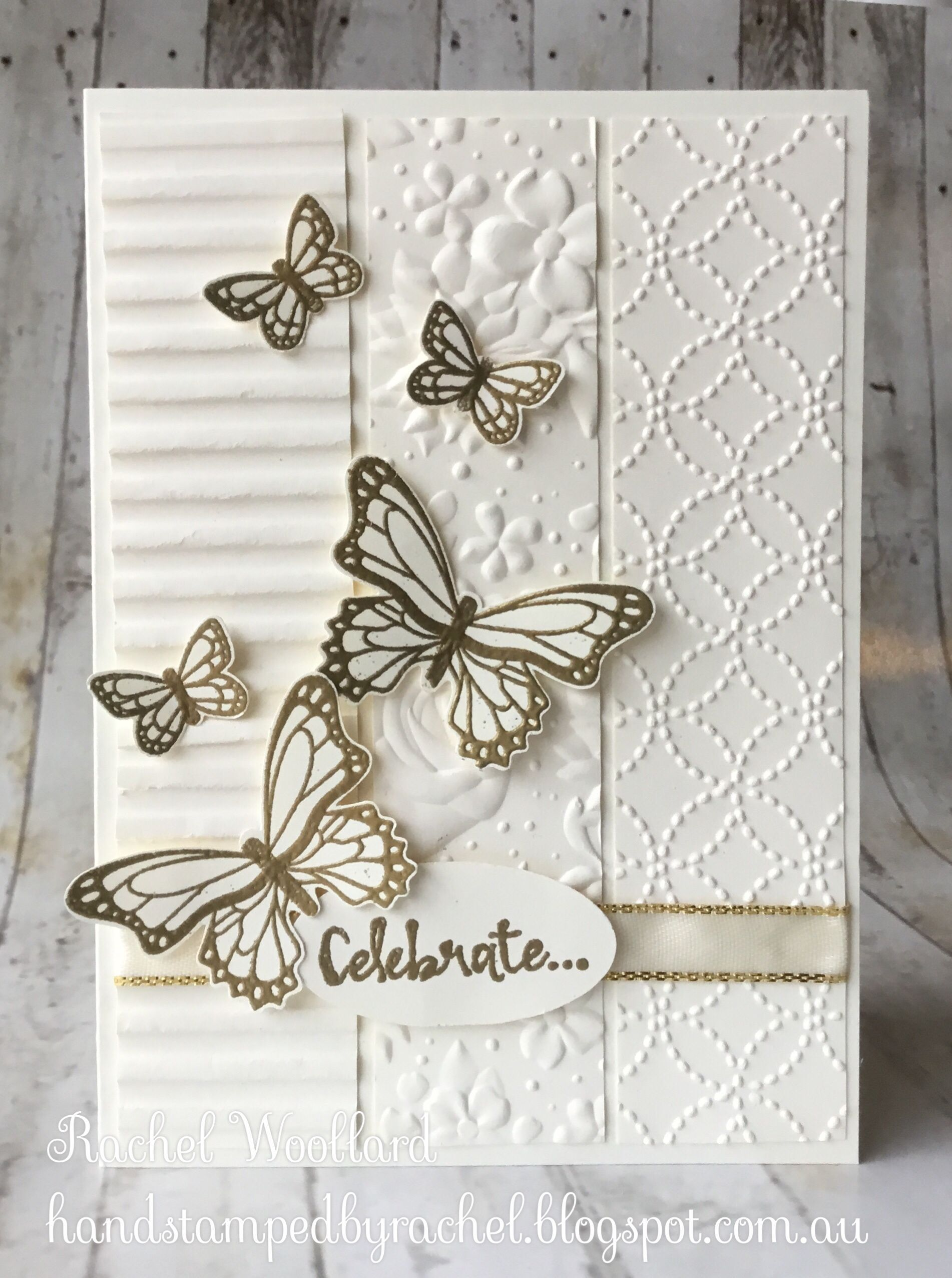Butterfly Gala - - #butterfly #Gala # Embossed Cards #ShortHaircuts #Speck ...