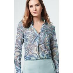 Stand-up collar blouses for women