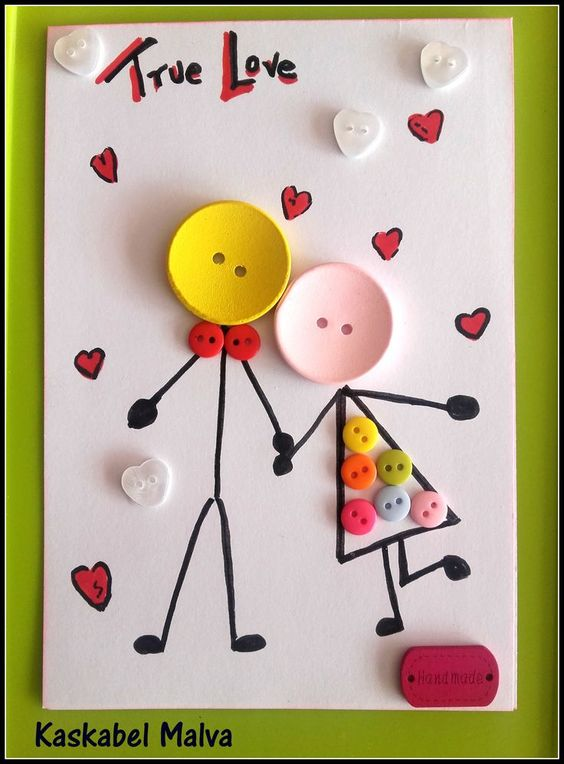 75 handmade Valentine's Day card ideas for him that are cute and romantic - Hike n Dip