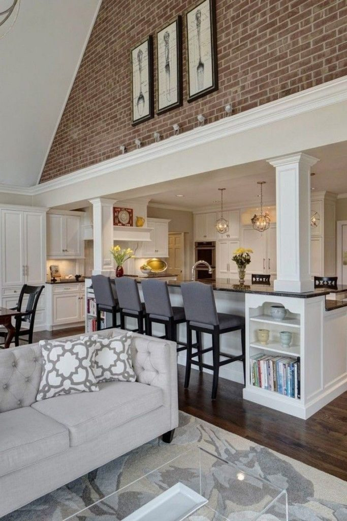40+ Luxury Open Kitchen Designs With Living Room