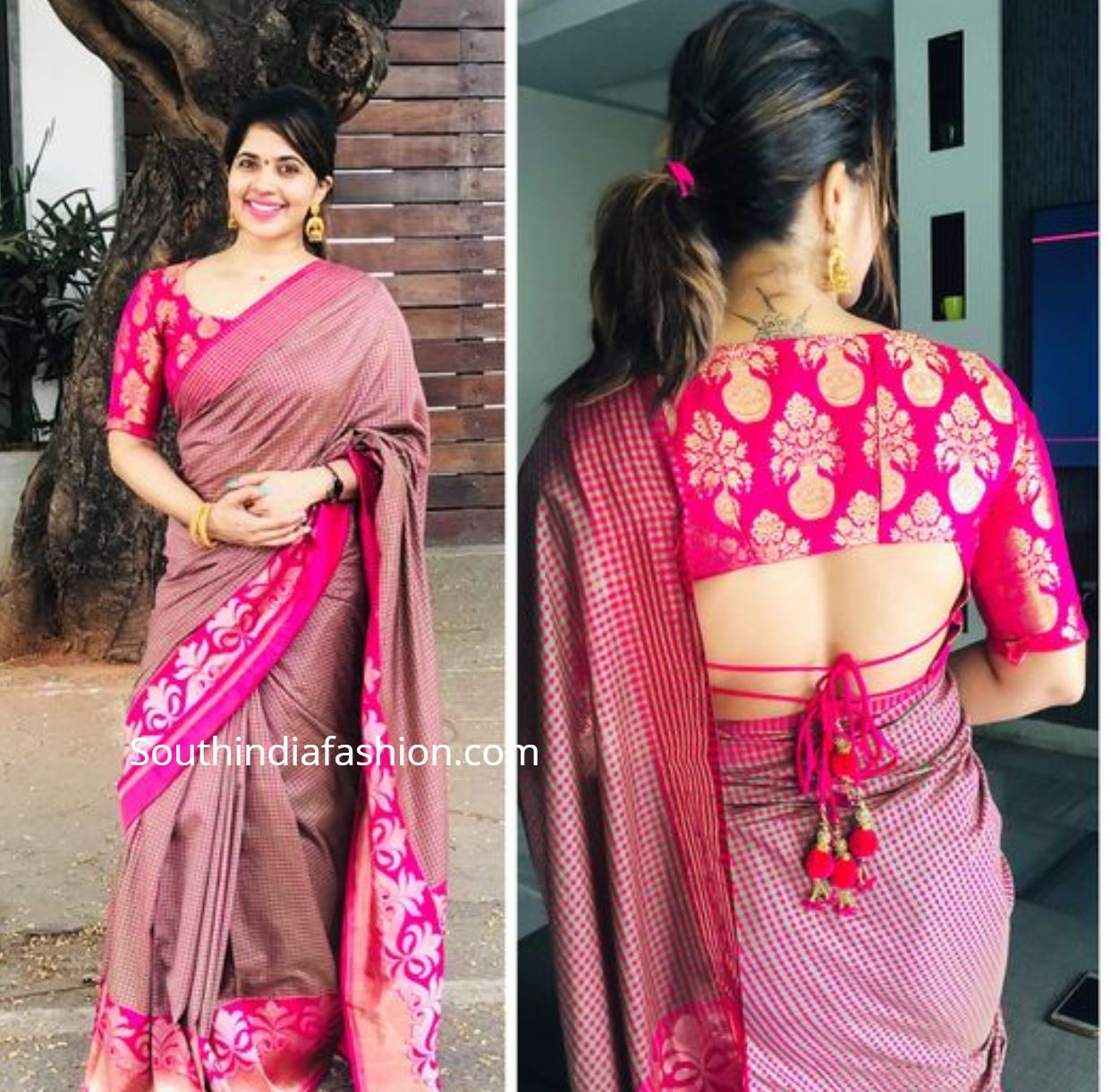 Pattu Saree Blouse Designs 2019 | Silk Saree Blouse Designs Catalog